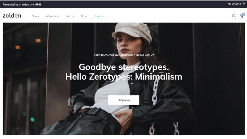 Zolden Online Store